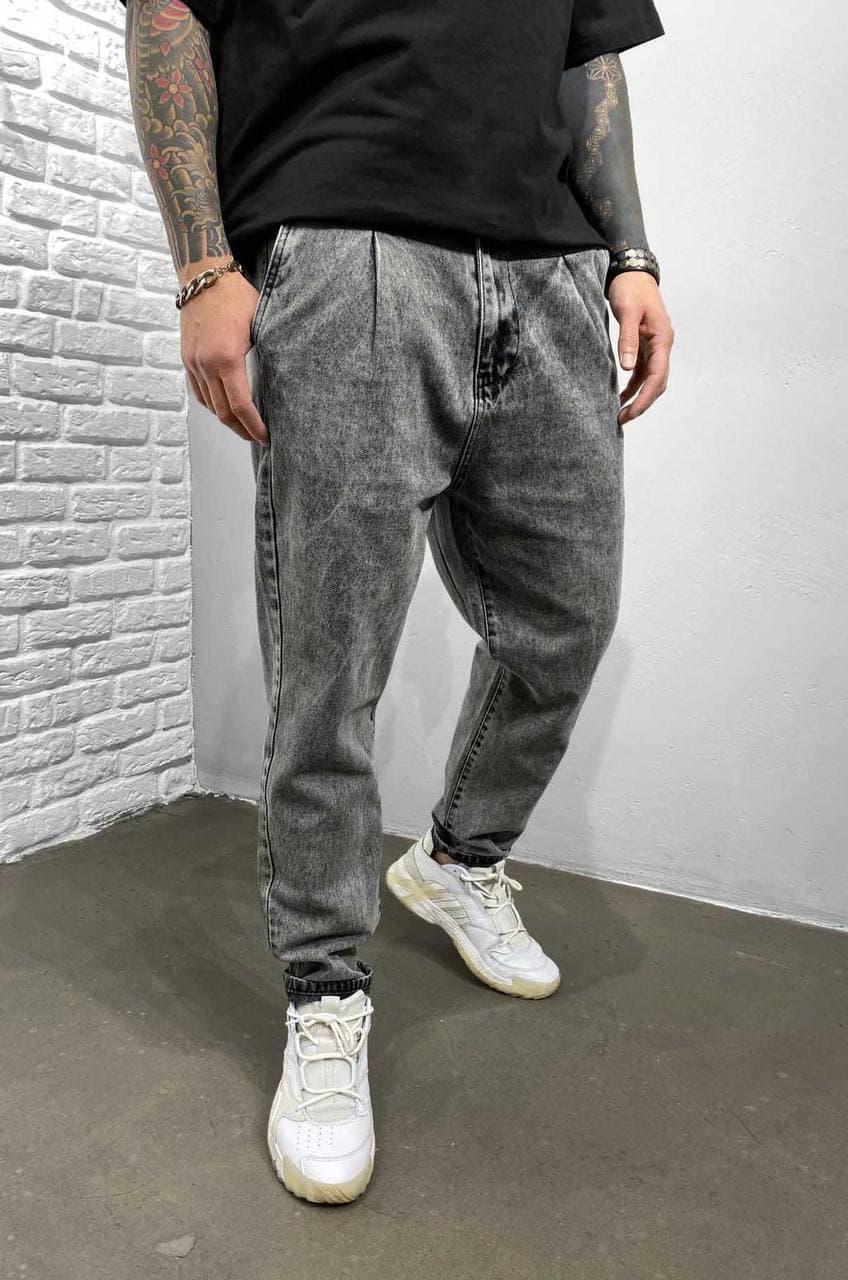 Чоловічі джинси МОМ Black Island 5983-3529 grey