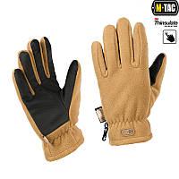 Рукавички M-Tac Fleece Thinsulate L койот коричневий (90309017-L)