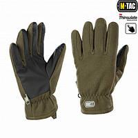 Рукавички M-Tac Fleece Thinsulate XL оливковий (90309001-XL)