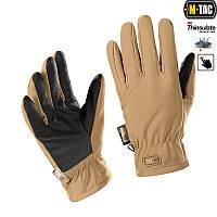 Рукавички M-Tac Soft Shell Thinsulate L койот коричневий (90308017-L)
