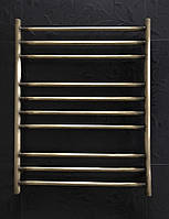 Бронзовый полотенцесушитель 600*800 Прямая 10 АЗОЦМ, фото 1