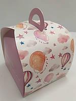 Коробка для сладостей Саквояж Розовый