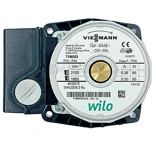 Насос Viessmann Wilo VIHU25/6-2 Vitopend WH0A - 7825097