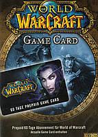 Підписка | Тайм карта Blizzard World of Warcraft 60 днів