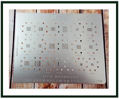 Трафарет BGA AMAOE HI:2 для Hi1101, Hi1102, Hi1103, Hi6361, Hi6401, Hi6353, Hi6363, Hi6362, Hi6402, Hi6403