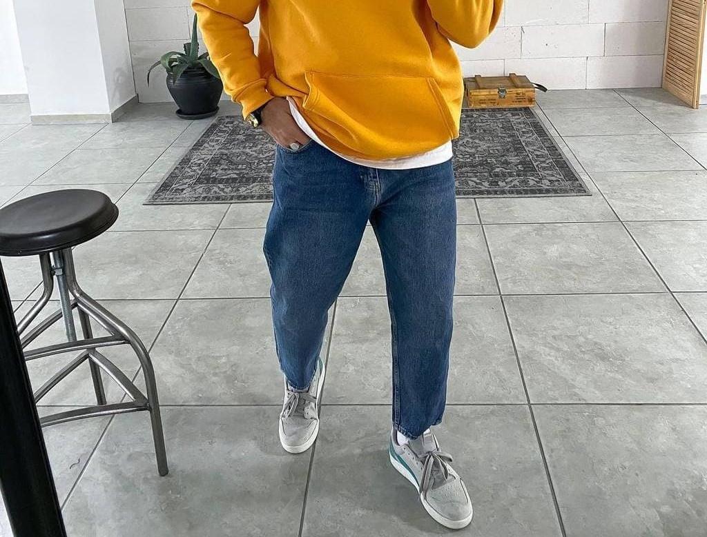 Чоловічі джинси МОМ 5715 сині