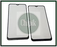 Скло для переклеювання дисплея Samsung A107, Galaxy A10s 2019 c OCA плівкою, Чорне