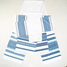 Рушники свадебные, комплект с 5штук в Синих тонах