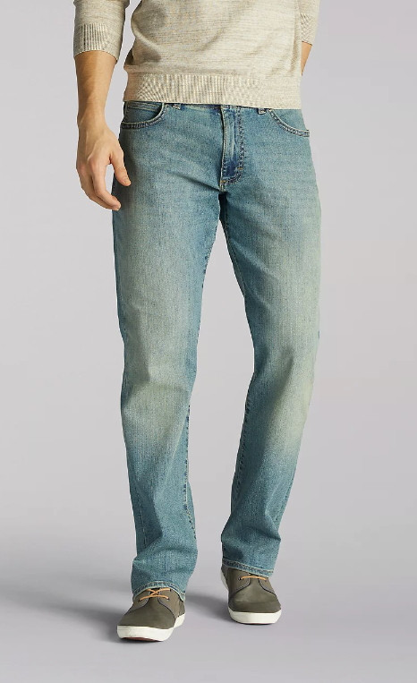 Джинсы Lee Extreme Motions Straight Fit Tapered - Radical
