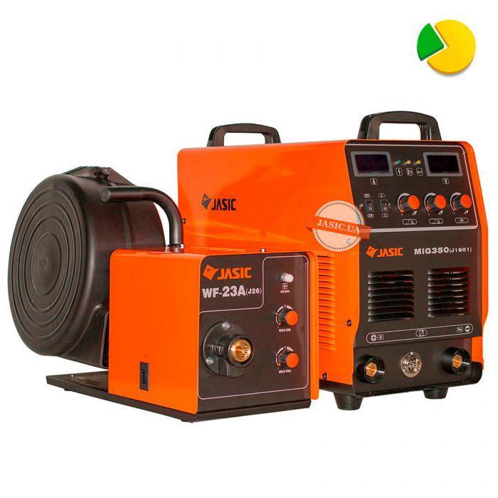 Зварювальний напівавтомат Jasic MIG-350 (J1601)