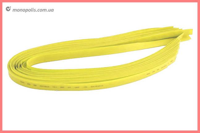 Трубка термоусадочная Apro - 1 мм x 30 м, желтая, фото 2