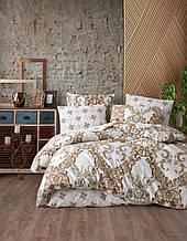Комплект постельного белья из фланели ТМ Belizza Aura Двуспальный Евро
