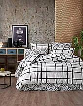 Комплект постельного белья из фланели ТМ Belizza Hugo Двуспальный евро