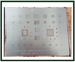 Трафарет BGA AMAOE MI:12 для Xiaomi Mi 10, Xiaomi Mi 10 Pro, Xioami Redmi K30 Pro