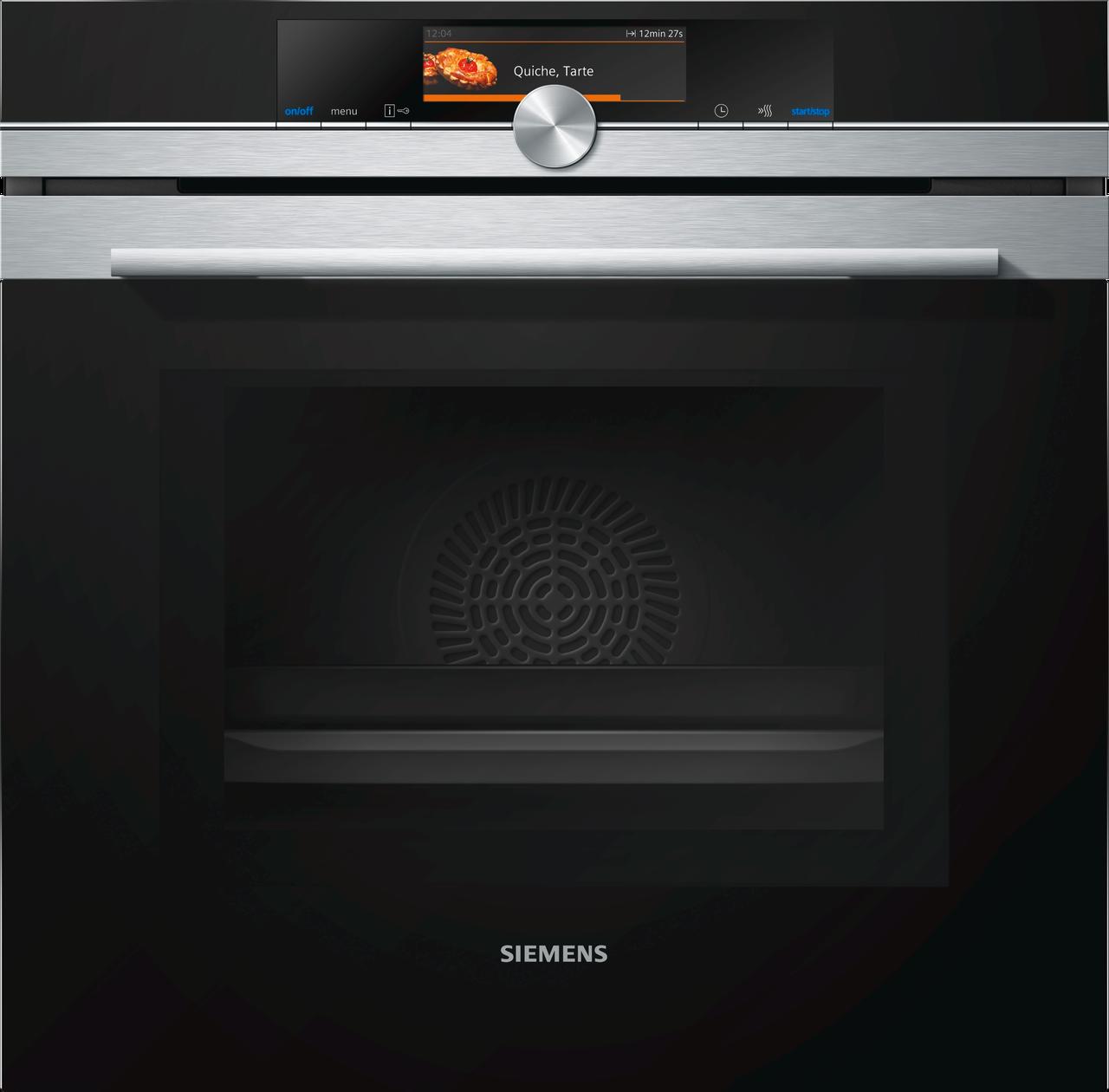 """Духовой шкаф с функцией  """"микроволновая печь"""" Siemens HM678G4S1"""