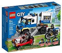 Конструктор LEGO City Police 60276 Транспорт для перевозки преступников   лего сити оригинал на 244 детали