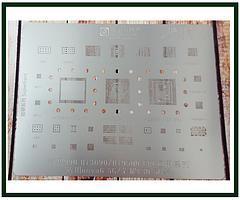 Трафарет BGA AMAOE HW:12 для Hi3690, Hi9500, CPU Nova6 5G, Hi6421, HI1103, HI6526
