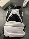 Мужские кроссовки  New Balance 530 White Black (копия), фото 5