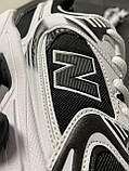 Мужские кроссовки  New Balance 530 White Black (копия), фото 6