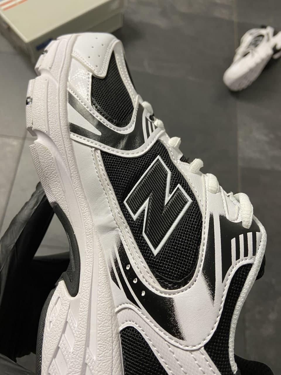 Мужские кроссовки  New Balance 530 White Black (копия)
