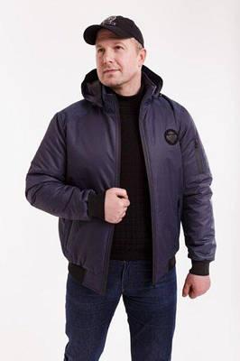 Мужская куртка осень-весна   48  темно-синий
