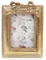 Фоторамка Золотой Бант фото 6.4х9см (цвета состаренного золота) BD-450-119