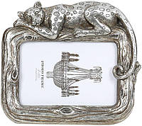 Фоторамка Гепард для фото 10х15см состаренное серебро BD-450-200