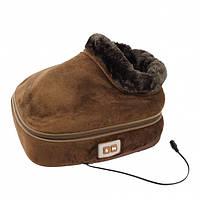 Вибромассажер-грелка для ног 2 в 1 Warm Massager, 98323