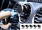 Магнитный держатель для телефона в машину. Универсальный автомобильный держатель для телефона. Серебро, фото 3