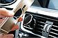 Магнитный держатель для телефона в машину. Универсальный автомобильный держатель для телефона. Серебро, фото 5