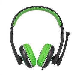 Компьютерная гарнитура ERGO VM-280 Green
