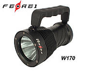 Фонарь для дайвинга Ferei W170 (холодный свет 3 XML 2960Lm)
