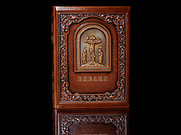 Книга кожаная Библия с гравюрами Гюстава Доре