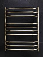 Бронзовий полотенцесушитель 600*800 Трапеція 10 АЗОТЦМ, фото 1
