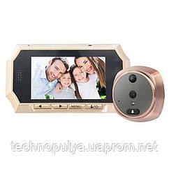 Відеовічко з датчиком руху Kivos KR07 з відео/фото записом і підсвічуванням 8 Гб (100449)