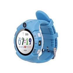 Детские умные часы Ergo GPS Tracker Color C010 Blue