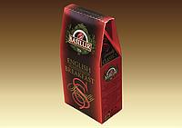"Чай Базилур ""Английский завтрак"" 100 гр картон"