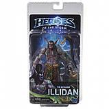 Фігурка Neca Иллидан Герої бурі Всесвіт Варкрафт 15 см Illidan, Heroes of the Storm, фото 2