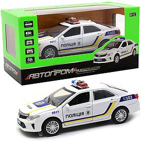 Машинка ігрова автопром «Поліцейський автомобіль (світло, звук) 7844