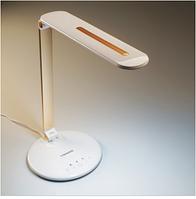 Настільна лампа Tiross TS-1806 white/gold