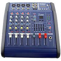Аудио микшер Mixer BT 4200D 4ch со встроенным bluetooth, фото 1