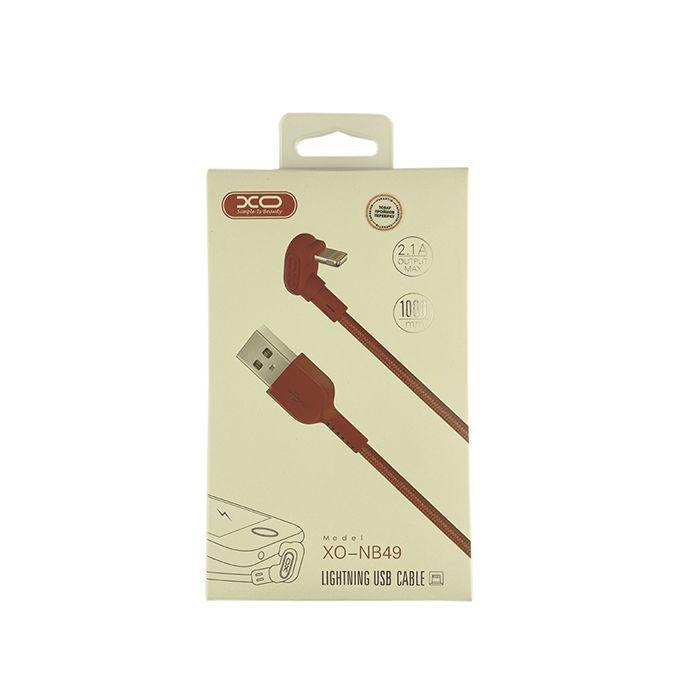 Кабель XO NB49 Lightning 1m 2.1 A Play Games Red
