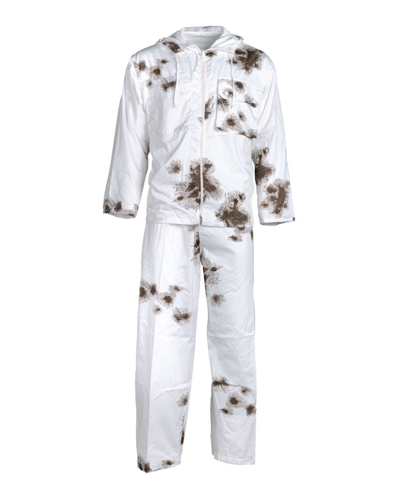 Маскхалат зимний двухсторонний белый MIL-TEC 11972000