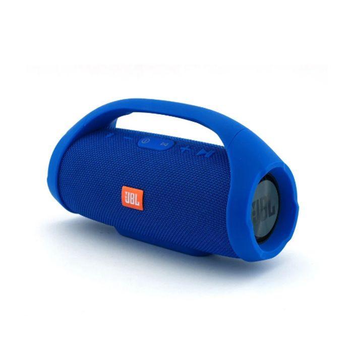 Портативна Bluetooth колонка JBL Mini Boombox + Power Bank Blue (копія)