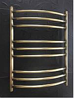 Бронзовый полотенцесушитель 500*700 Радуга 9П АЗОЦМ, фото 1