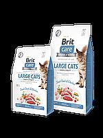Brit Care(Брит Кеа) Cat GF Large cats, для собак великих порід зі свіжою качкою і куркою, 0.400 р