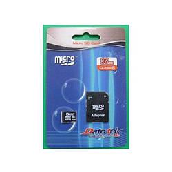 Карта памяти Dato 32GB microSDHC Class 10 UHS-I(без адаптера)