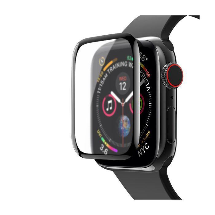 Захисне скло Matte for Apple Watch Series 3 42 mm 3D Black (тех. пак)