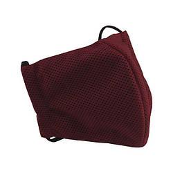 Многоразовая защитная маска для лица Sport красная (размер M)