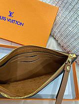 """Клатч женский Louis Vuitton """"Коричневый"""", фото 2"""